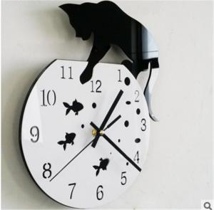 貓咪壓克力鐘 201607226-home-clock-20