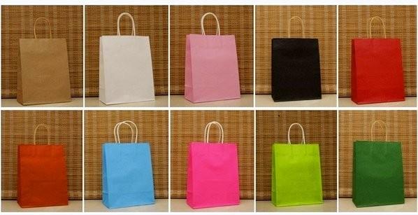 十色純色紙袋(十入) 201605207-OTH-bag10-37