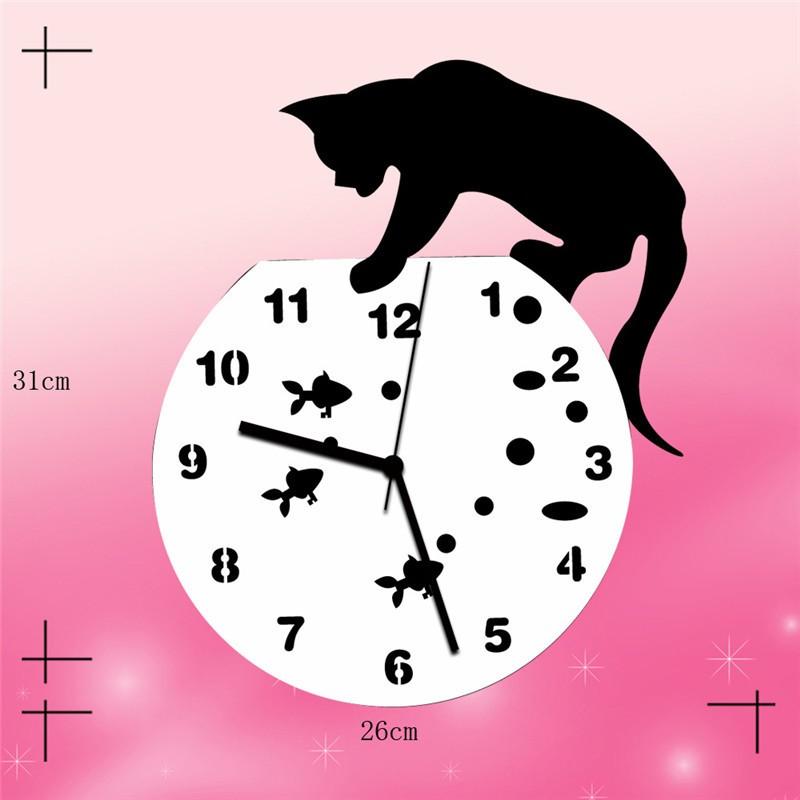 貓咪壓克力鐘 201607226-home-clock-32