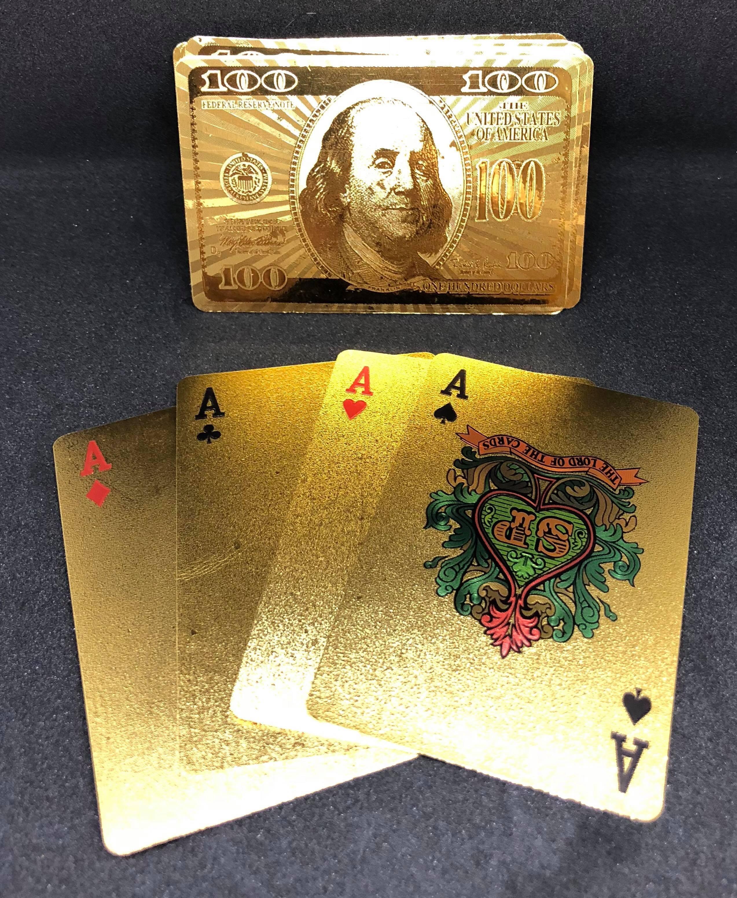 過年必備金色撲克牌 201605205-32