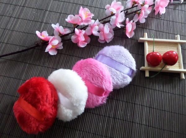 可愛長絨毛粉撲 201708276-31