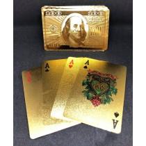 過年必備金色撲克牌 201605205-20