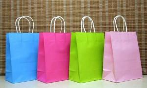 十色純色紙袋(十入) 201605207-OTH-bag10-20